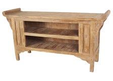 Stałego drewna konsola Zdjęcie Stock