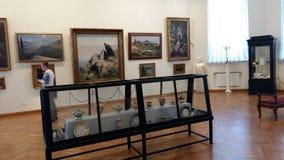 Stała ekspozycja w Radishchev muzeum Fotografia Stock