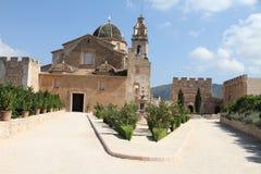 Sta Maria De Los angeles Valldigna, Walencja, Hiszpania Zdjęcia Stock