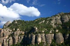 Sta. Montaña de Barbara Foto de archivo