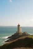 stać na czele latarnia morska ocean Zdjęcie Royalty Free
