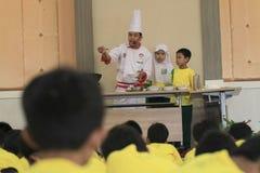 Stażowy kucharstwo Dla dzieciaków Obraz Royalty Free