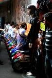 Staaf in de Markt van Camden, Londen Stock Fotografie