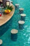 Staaf in een zwembad Royalty-vrije Stock Afbeelding