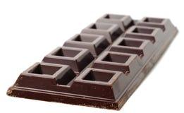 Staaf van extra Bittere Chocolade Stock Afbeeldingen
