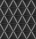Staal driehoekige textuur Royalty-vrije Stock Foto