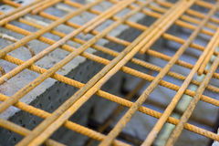 Staal en beton Stock Foto's