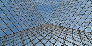 Staal en glas Stock Fotografie