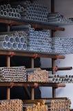 staal producten Stock Foto