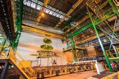 Staalfabriek royalty-vrije stock afbeelding