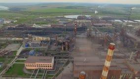 Staalfabriek stock videobeelden