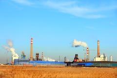 Staalfabrieken stock fotografie