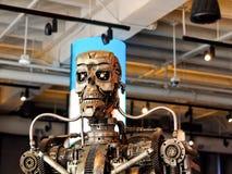 Staalrobot stock afbeeldingen
