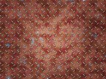 Staaltextuur, Staalachtergrond, de achtergrond van de Roesttextuur, Roest van staal, Ijzerroest stock illustratie