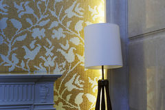 Staande lamp Royalty-vrije Stock Foto's