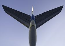 Staart 3 van de jet Stock Afbeelding