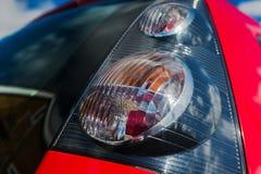 Staart licht close-up Stock Afbeeldingen