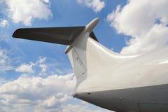 Staart van vliegtuig Royalty-vrije Stock Foto's