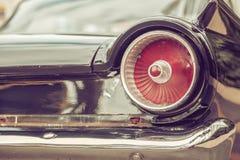 staartlamp van retro klassieke auto uitstekende stijl Stock Afbeelding
