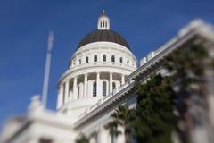 Staat California-Haus-und Kapitol-Gebäude, Sacramento stockfotografie