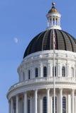 Staat California-Haus-und Kapitol-Gebäude, Sacramento lizenzfreie stockfotos