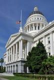 Staat California-Kapitol-Gebäude Stockfotos