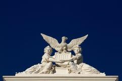 Staat California-Kapitolfrauenskulptur Stockfotografie