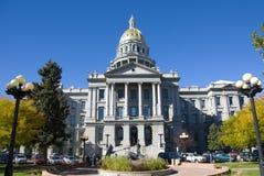 Staat Colorado-Kapitol Lizenzfreie Stockbilder