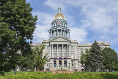 Staat Colorado-Kapitol Stockfotos