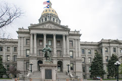 Staat Colorado-Kapitol-Architektur Stockbilder