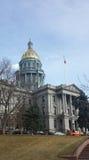 Staat Colorado-Kapitol in Denver stockbilder