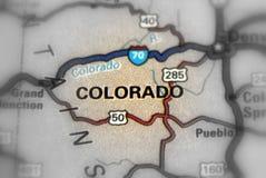 Staat Colorado - Vereinigte Staaten U S Stockfoto