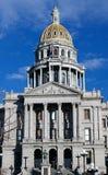 Staat Coloradokapitol Lizenzfreies Stockfoto