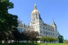 Staat Connecticut-Kapitol, Hartford, CT, USA Lizenzfreie Stockbilder
