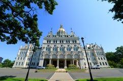 Staat Connecticut-Kapitol, Hartford, CT, USA lizenzfreies stockbild
