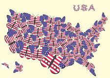 Staat 51 der USA Stockfoto