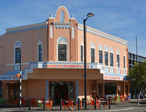 Staat die Art Deco Napier New Zealand bouwen Royalty-vrije Stock Afbeeldingen