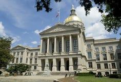 Staat Georgia-Kapitol-Gebäude Stockfoto