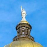 Staat Georgia-Kapitol-Gebäude in Atlanta, Georgia lizenzfreies stockbild