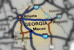 Staat Georgia - Vereinigte Staaten U S Stockfoto