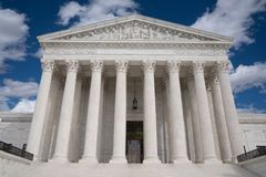 Staat-Höchstes Gericht stockbild