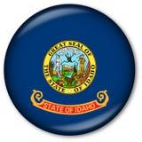 Staat Idaho-Markierungsfahnen-Taste Stockfotos