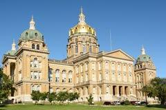 Staat Iowas-Kapitol Lizenzfreies Stockfoto