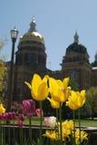 Staat Iowas-Kapitol-Gebäude Stockbild