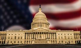 US-Kapitol-Gebäude Stockfoto