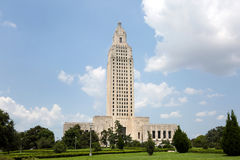 Staat Louisiana-Kapitol-Baton Rouge Stockbild