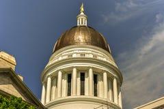 Staat Maine-Haus Stockfoto
