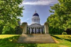 Staat Maine-Haus Stockfotografie