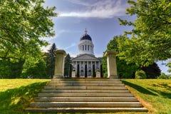 Staat Maine-Haus Lizenzfreies Stockfoto