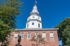 Staat Maryland-Kapital-Gebäude stockbild